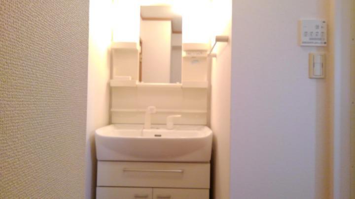 プリムローズⅡ 02010号室の洗面所