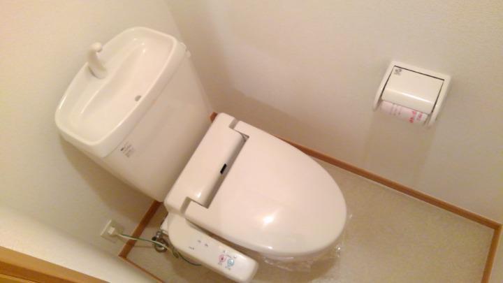 プリムローズⅡ 02010号室のトイレ
