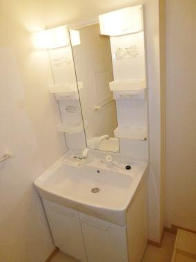 ブレッザ 02020号室の洗面所