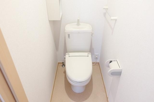 サニ- スプリング B 01010号室のトイレ