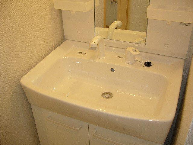 ソレイユ・A 02010号室の洗面所