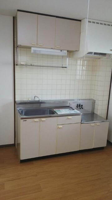 グリーンハイツA 01030号室のキッチン