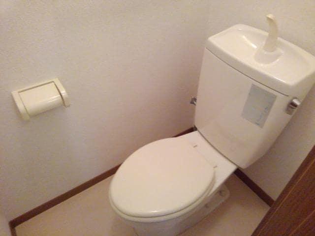 ヴィラ星の宮 01020号室のトイレ