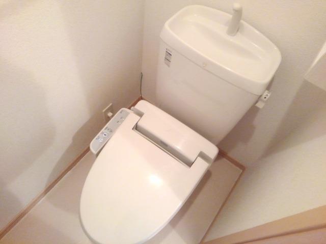 ラッセルルピナス 02010号室のトイレ