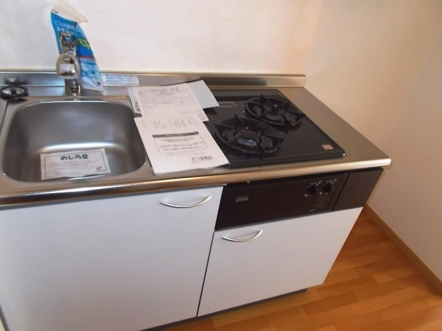 ド・オロ-ル ソ-レⅠ 01020号室のキッチン