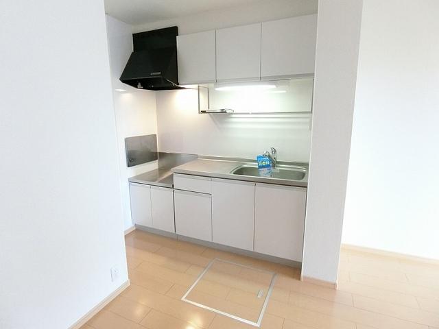 セレーノB 01010号室のキッチン