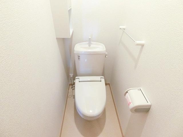 セレーノB 01010号室のトイレ