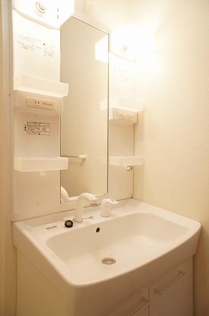 ルミナリエ 01030号室の洗面所