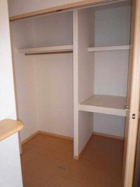 ルミナリエ 01030号室の収納
