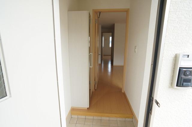 アスカB 01040号室の玄関