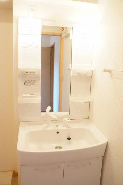 エテルノ ブリ-ズ Ⅱ 01020号室の洗面所