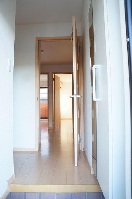 エテルノ ブリ-ズ Ⅱ 01020号室の玄関