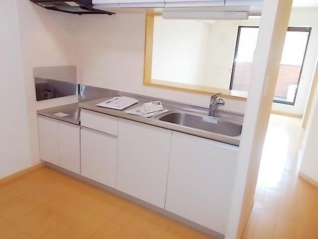 エテルノ ブリ-ズ Ⅱ 02020号室のキッチン