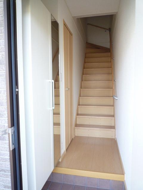 エテルノ ブリ-ズ Ⅱ 02020号室の玄関