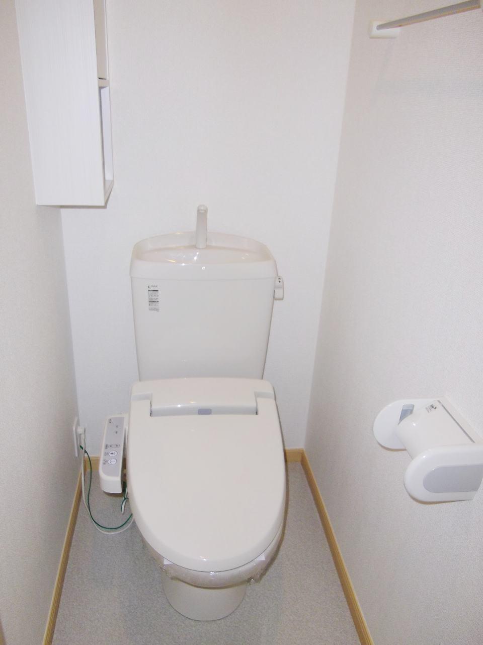 ベルデーアB 01040号室のトイレ