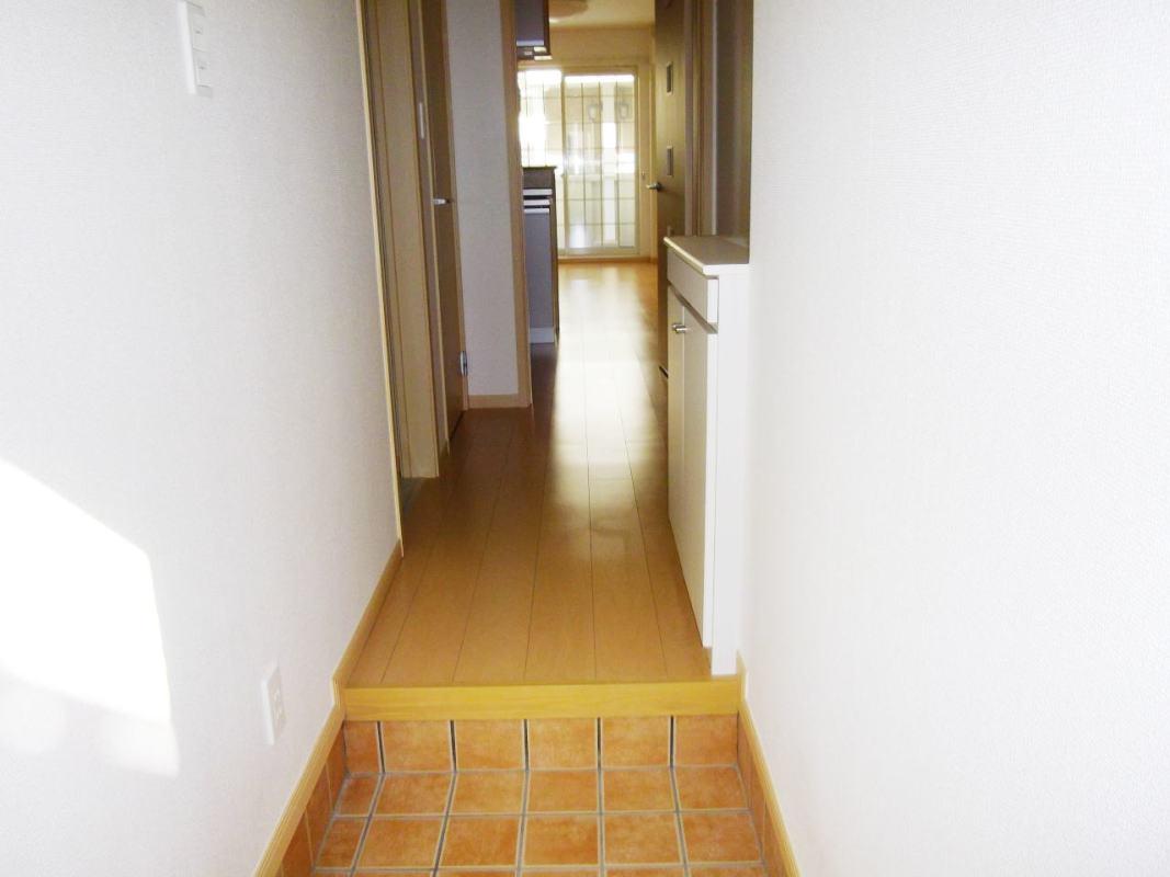 ベルデーアB 01040号室の玄関