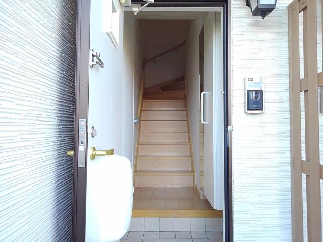 イストワール Ⅰ 02030号室の玄関
