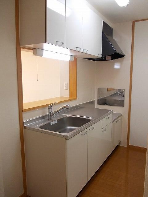 シェーロ・ステラートA 02030号室のキッチン