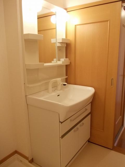 シェーロ・ステラートA 02030号室の洗面所