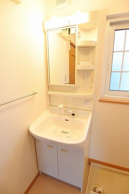 エアリーハウス 01010号室の洗面所