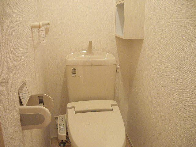 ヒルサイドハウスⅠ 01020号室のトイレ