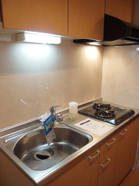 広尾ビューヒルズ 08020号室のキッチン