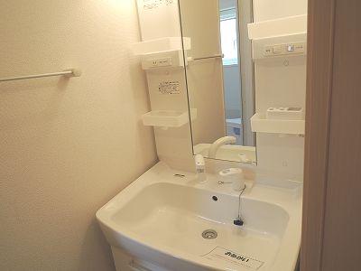 アロッジオ 01010号室の洗面所
