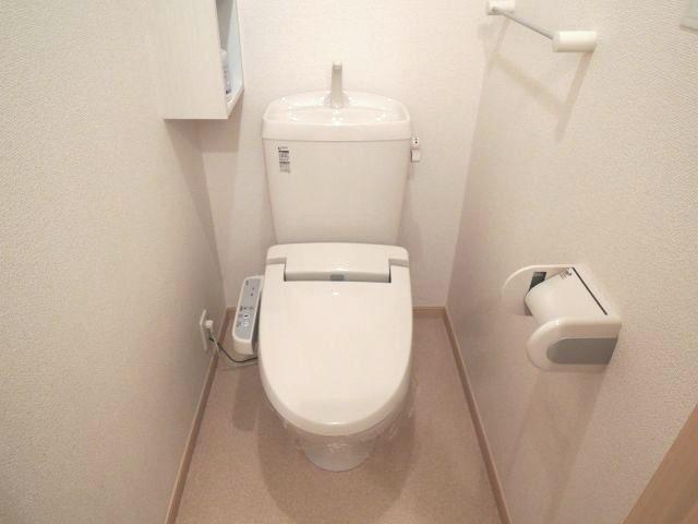アロッジオ 01010号室のトイレ