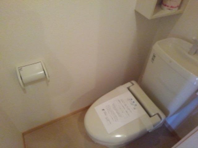ブランミュールD 01030号室のトイレ