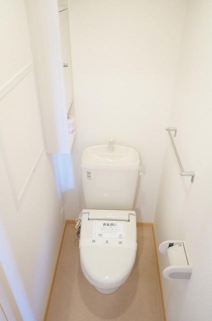 グレイスフル・M 02030号室のトイレ