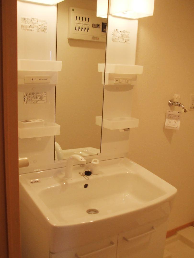ボニート春日部 04030号室の洗面所