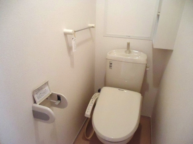 ジェルメ・メゾン 02030号室のトイレ