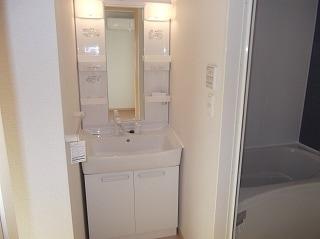 ジェルメ・メゾン 02030号室の洗面所