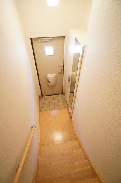 アンジュ・プレッソB 02010号室の玄関