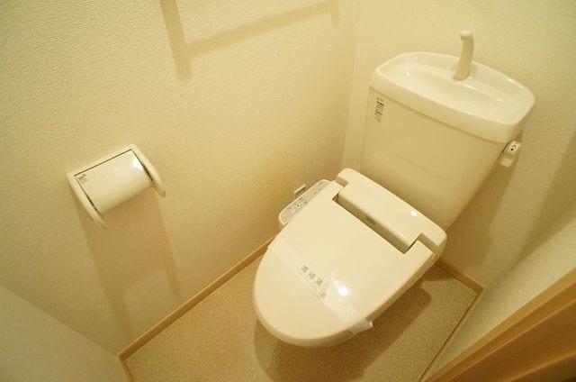 アンジュ・プレッソB 02010号室のトイレ