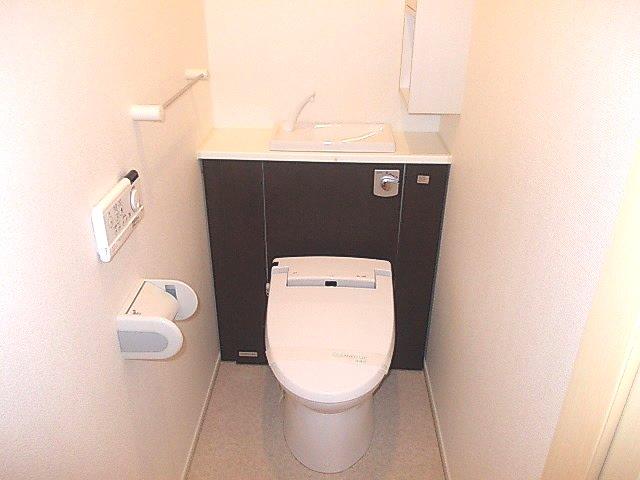グランデ・オルソⅡ 01050号室のトイレ
