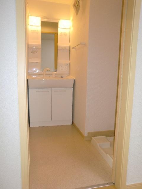 フレール与野本町参番館 01010号室の洗面所