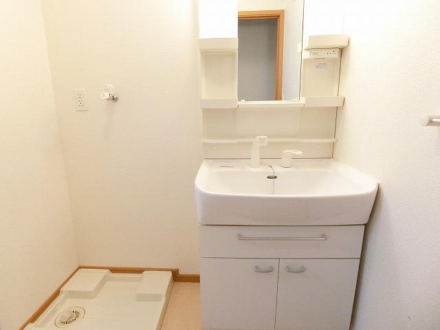 プリムローズ 01010号室の洗面所