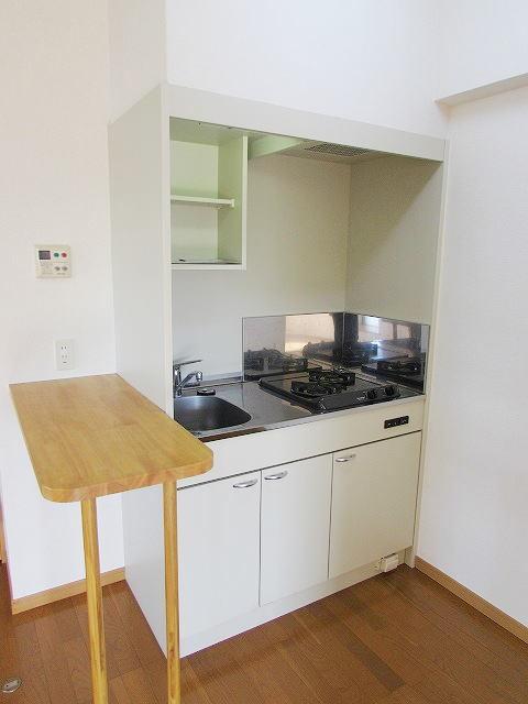 シャン・ド・フル-ル 06100号室のキッチン