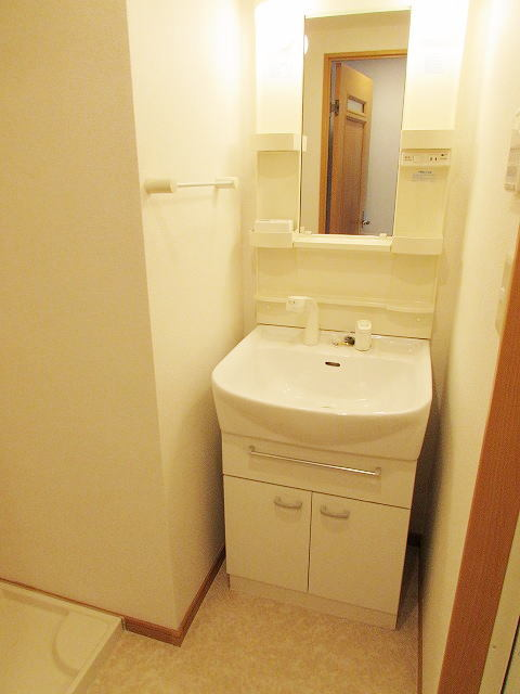 シャン・ド・フル-ル 06100号室の洗面所