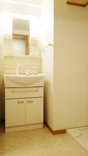 シャン・ド・フル-ル 08090号室の洗面所