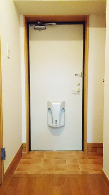 シャン・ド・フル-ル 08090号室の玄関