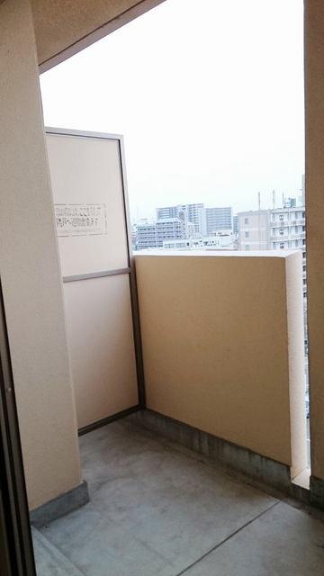 シャン・ド・フル-ル 08090号室のバルコニー