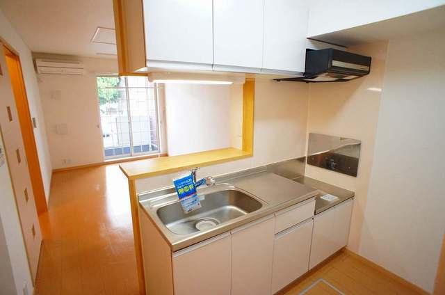 プリムローズⅡ 01030号室のキッチン