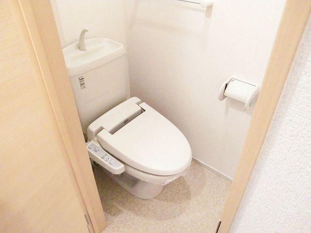 ラポールⅡ 01020号室のトイレ