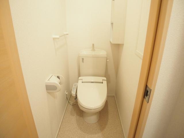 ラポールⅡ 02020号室のトイレ