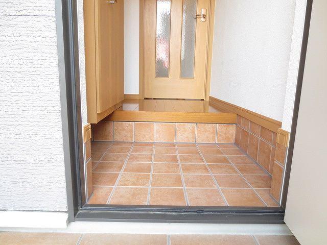 サニー・パークサイド 01020号室の玄関
