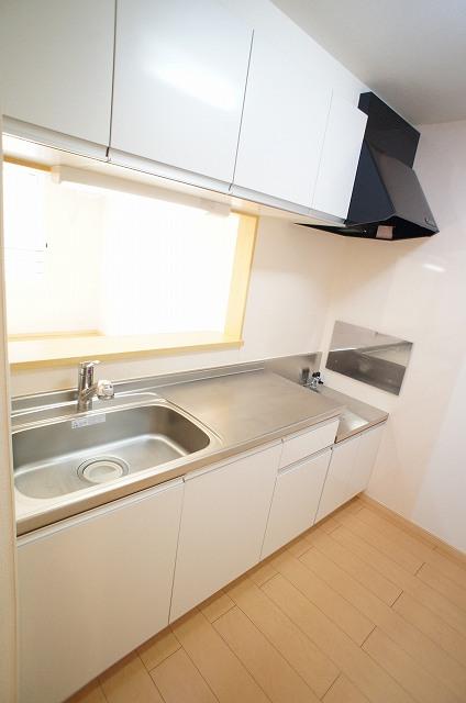 サンエスポワールⅠ 02050号室のキッチン