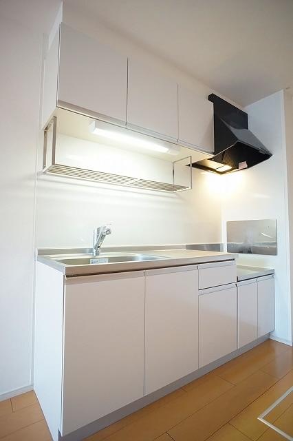 リジエルB 01010号室のキッチン