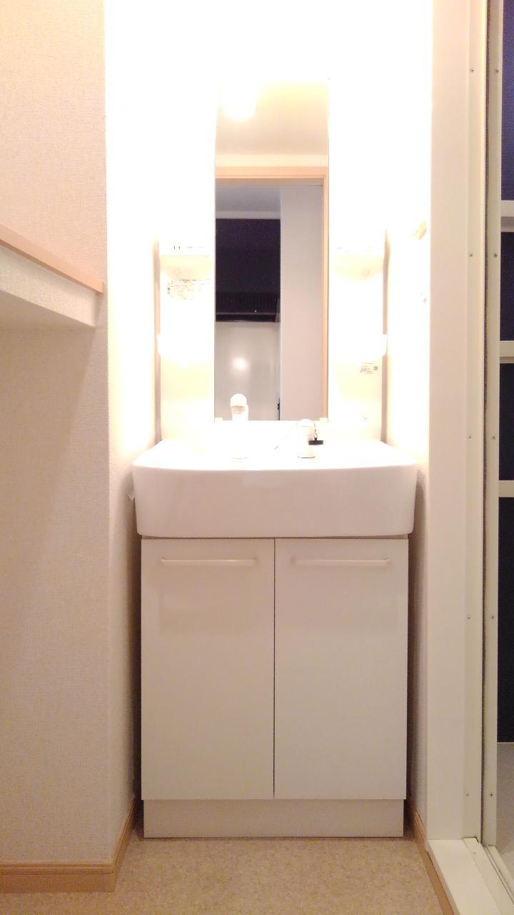 クレセント ルーン 01040号室の洗面所